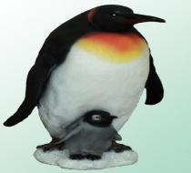 Пингвин с пингвиненком