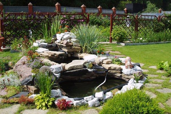 Декоративные водоемы, пруды и фонтаны